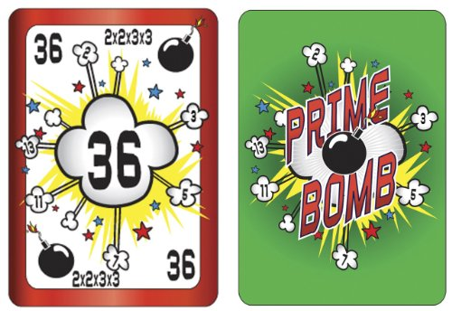 American Educational Prime Bomb Card Game - 1