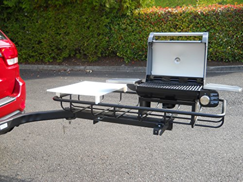 StowAway Hitch Mount Grill for Tailgating and Grilling ...
