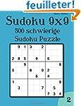 Sudoku 9x9: 500 schwierige Sudoku Puz...