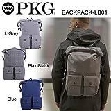 (ピーケージー)PKG バックパック BACKPACK-LB01 Blue pkg-003-Blue