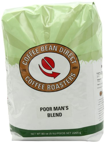 Coffee Bean Direct Poor Man's Blend, Whole Bean