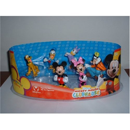 Disney Mickey Mouse Clubhouse Juego Juego de la figura - 6-PC.