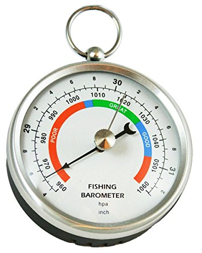 Ambient weather dhr70b stainless handheld fishing for Barometric pressure forecast for fishing