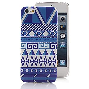 iPhone 5 5S Case, Ludan Painted Series Totem Super Lightweight Slim Protective TPU Gel Back Case Cover for 4 inches iPhone 5 5S by Ludan