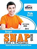 TARGET SNAP 2015 - Past (2005 - 2014) + 5 Mock Tests