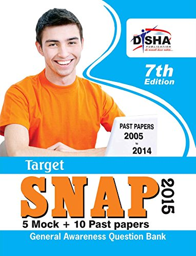 TARGET SNAP 2015 - Past (2005 - 2014) + 5 Mock Tests (Old Edition)