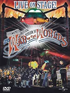 Jeff Wayne's Musical Version Of The War Of The Worlds (2 Dvd) - IMPORT