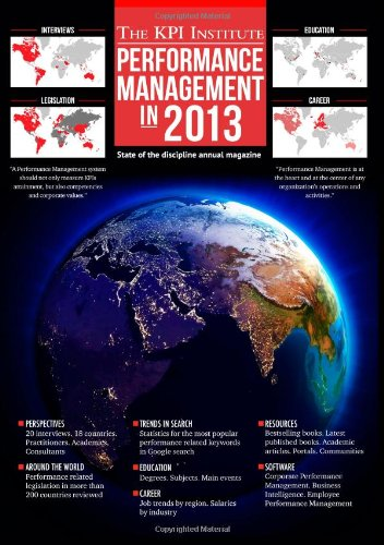 Performance Management In 2013: State Of The Discipline Annual Magazine