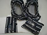 Seattle Seahawks Fabric Shoe Cover Rosin Bag Towel Set at Amazon.com