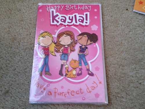 Happy Birthday Kayla - Singing Birthday Card - 1