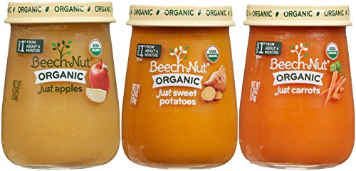 Beech-Nut Organic Stage 1 Baby Food Variety Pack, 4.25 Ounce (Pack of 10) (Baby Food Stage 1 Beechnut compare prices)