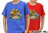 Skylanders - Tshirt Giants Enfant Rouge (taille 9/11 ans)
