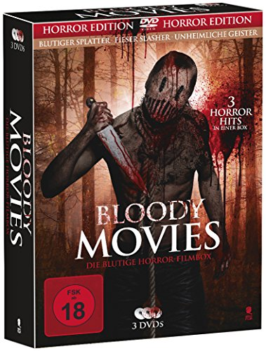 Bloody Movies - Die blutige Horror-Filmbox [3 DVDs]