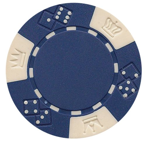Read About 50 Premium Quality Clay Composite Triple Crown 11.5 gram Poker Chips, Choose from 9 color...