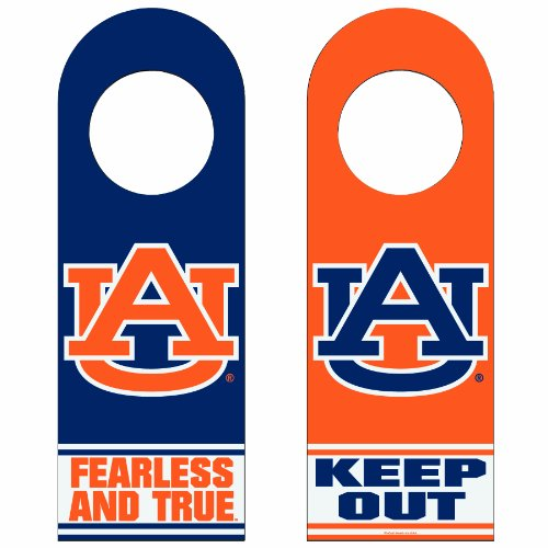 NCAA Auburn Tigers Wood Door Hanger at Amazon.com