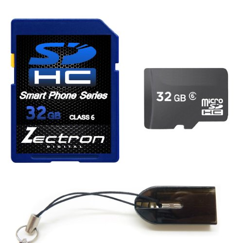Click to buy Zectron Smart Phone Series SDHC 32GB Micro Class 6 Memory Card for Samsung B2710 + Free Micro USB card reader - From only $141.04