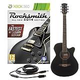 Rocksmith 2014 Xbox 360 Chitarra Elettroacustica Cutaway Singolo nero