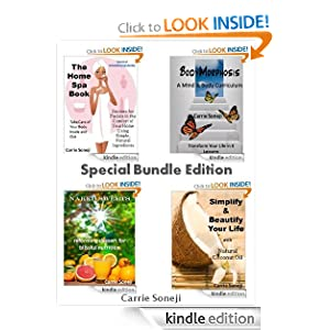 4-Book Bundle Special Edition: Simplify & Beautify Your Life with Coconut Oil, The Home Spa Book, BodyMorphosis Mind & Body Curriculum, and Naked Sweets: Reforming Dessert for Blissful Nutritio
