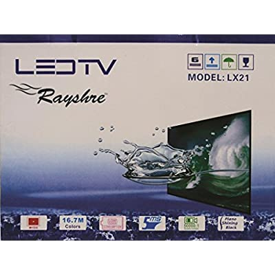 Rayshre 48 cm (19 inches) Glass HD Ready LED TV (Black)