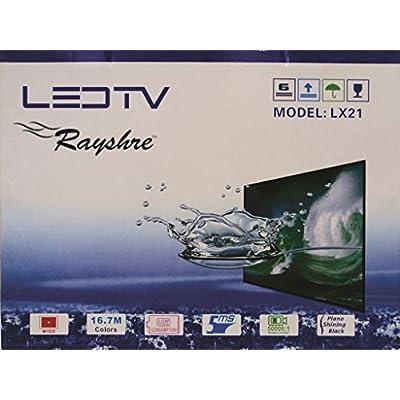 Rayshre 48 cm (19 inches) Glass HD Ready LED TV (Black)