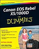 Julie Adair King Canon EOS Rebel XS/1000D For Dummies