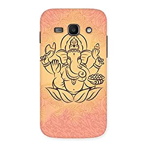 Cute Jai Ganesha Print Back Case Cover for Galaxy Ace 3