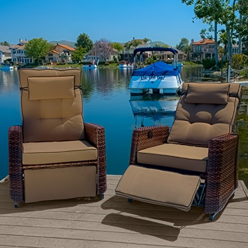 Westwood Outdoor Glider Recliner Chairs (set of 2) image