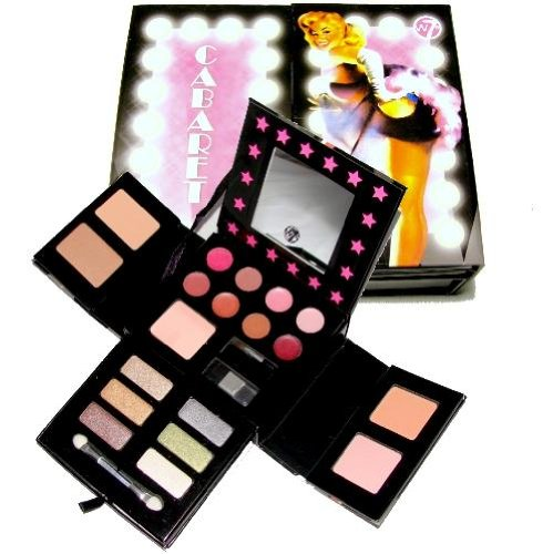 W7 Cabaret Make Up Collection Gift Set - Eyes Lips Face