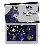 2002 S US Mint Quarters Proof Set OGP