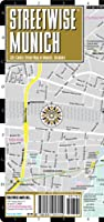 Streetwise Munich Map - Laminated City Center Street Map of Munich, Germany - Folding pocket size travel map with metro map including S-Bahn & U-Bahn from Streetwise Maps