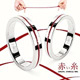 【赤い糸 /レッドライン】 サージカルステンレスリング/ メンズ レディース (13)