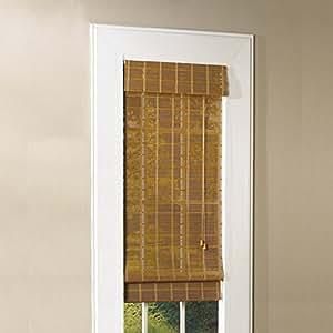 Buy Lewis Hyman 0213115e Bamboo Roman Shade 31 Inch Wide
