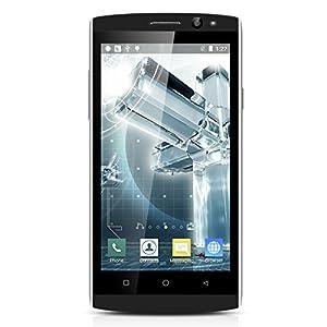 4.5 Pouce TIMMY M10 IPS 3G Smartphone Android 5.1 MTK6580 1.3GHz Quad Core Mobile Phone Dual SIM 1GB RAM+8GB ROM 5.0MP Caméra Téléphone Portable Réveil Intelligent Bleu fonce