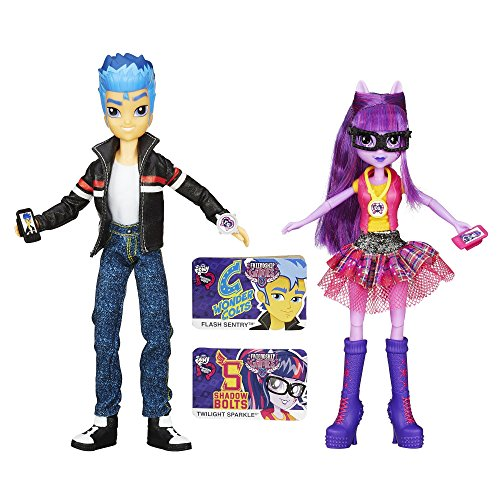 My Little Pony Equestria Girls Flash Sentry and Twilight Sparkle 2-Pack (Twilight House compare prices)
