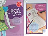 My Style Studio: Design & Trace Your Own Fashions (Klutz)