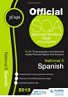 SQA Specimen Paper 2013 National 5 Spanish and Model Papers (Sqa Past Papers)