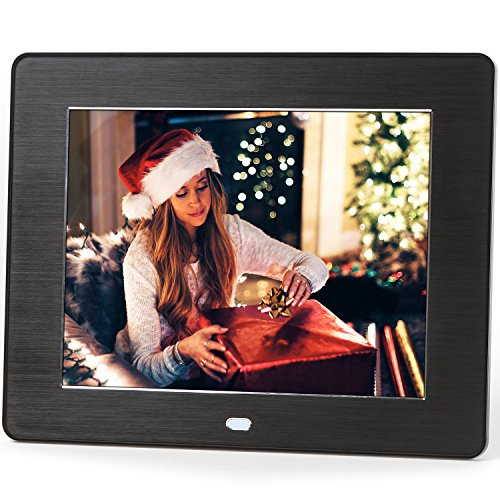 Micca M808z 8-Inch 800x600 High Resolution Digital Photo Frame With Auto On/Off Timer, MP3 and Video Player (Black) (Photo Digital Album compare prices)
