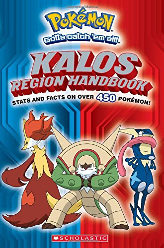 Pokemon: Kalos Region Handbook (Pokémon) (Free Pokemon Ca compare prices)