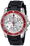Victorinox Men's 241433 Analog Display Swiss Quartz Black Watch