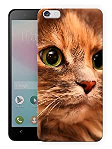 """Humor Gang Cat Eyes Printed Designer Mobile Back Cover For """"Huawei Honor 4X"""" (3D, Matte, Premium Quality Snap On Case)"""