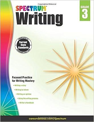 Spectrum Writing, Grade 3 written by Spectrum