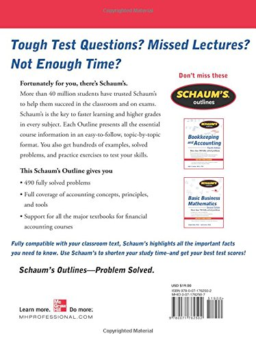 Schaum's Outline of Financial Accounting, 2nd Edition (Schaum's Outline Series)