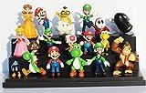 Super Mario Bros PVC Action figures Toys Dolls 18 pcs/set SMFG020