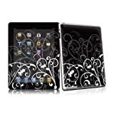 Protective Skin for Apple iPad 2 - B&W Fleur (matte satin finish) - High quality precision engineered removable adhesive skin for the 2nd generation iPad tablet from 2011by DecalGirl iPad 2nd gen...