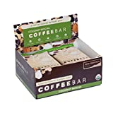 CoffeeBar Organic, Non-GMO & Gluten Free Coffee Infused Energy Bar (Pack Of 12) - Coconut Mocha