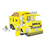 Ausini Construction Dump Truck With Action Figures Building Bricks 269pc Educational Blocks Set Compatible To...