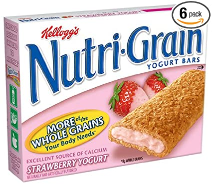 Nutri Grain Bars Ingredients Nutri-grain Yogurt Bars