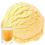 Zabaione mit Eierlikör Eierpunch Geschmack 333 g Gino Gelati Eispulver für Ihre Eismaschine