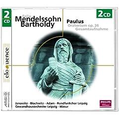 """Mendelssohn: Paulus, Op.36 / Part 1 - No.7 Arie: """"Jerusalem! Die du t�test die Propheten"""""""