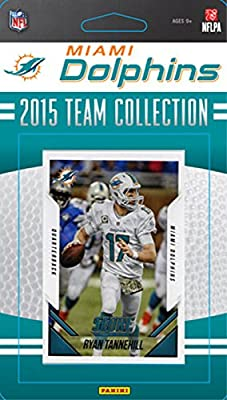 Miami Dolphins 2015 Score Factory Sealed Complete Mint 13 Card Team Set with Ryan Tannehill, Ndamukong Suh, Cameron Wake Plus